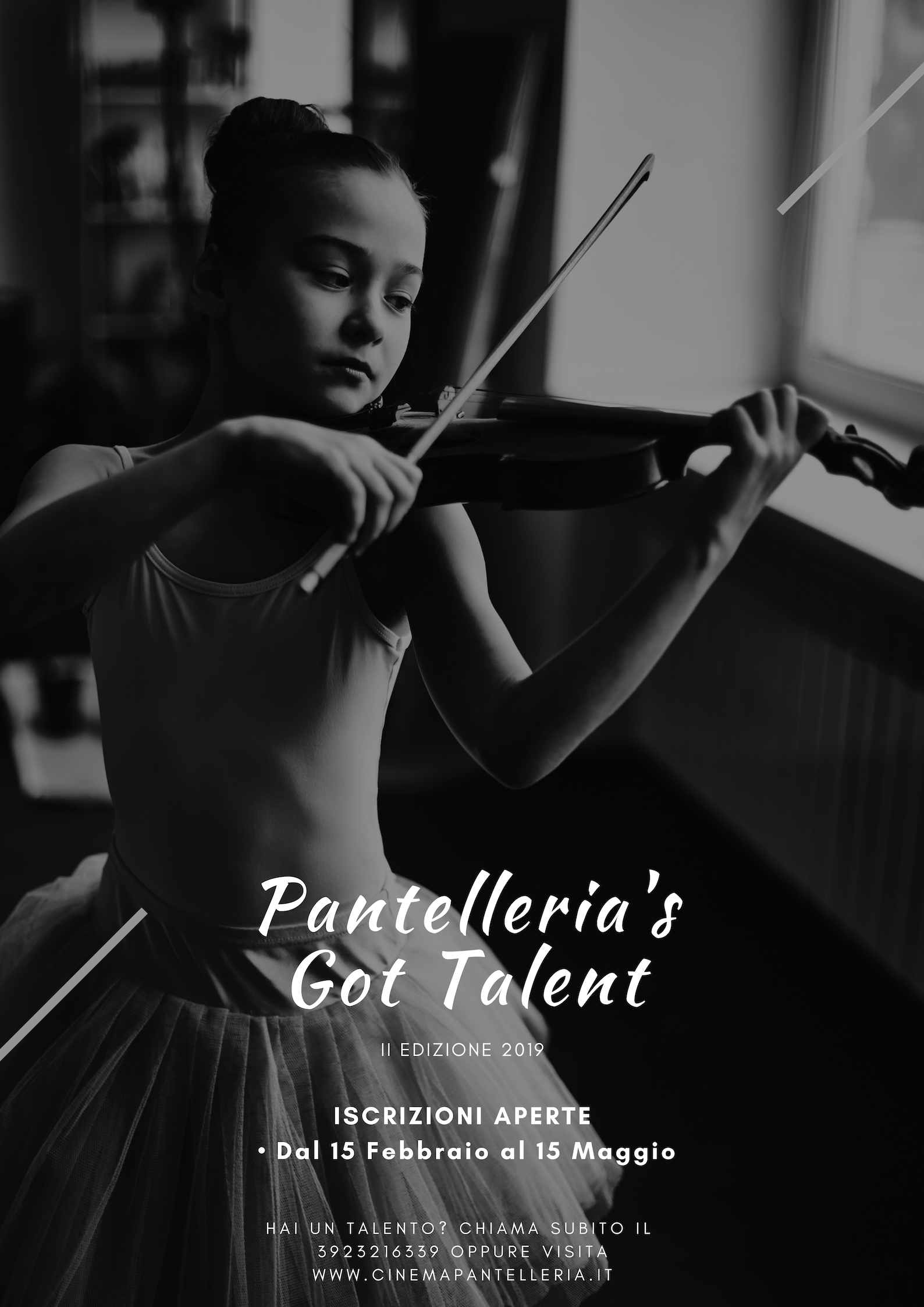 Flyer Pantelelria's Got Talent